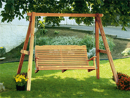 Freestanding Porch Swings